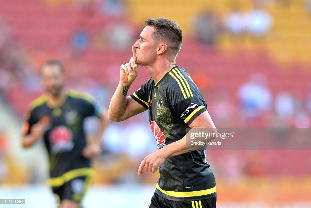 A-League Rd 21 - Brisbane v Wellington