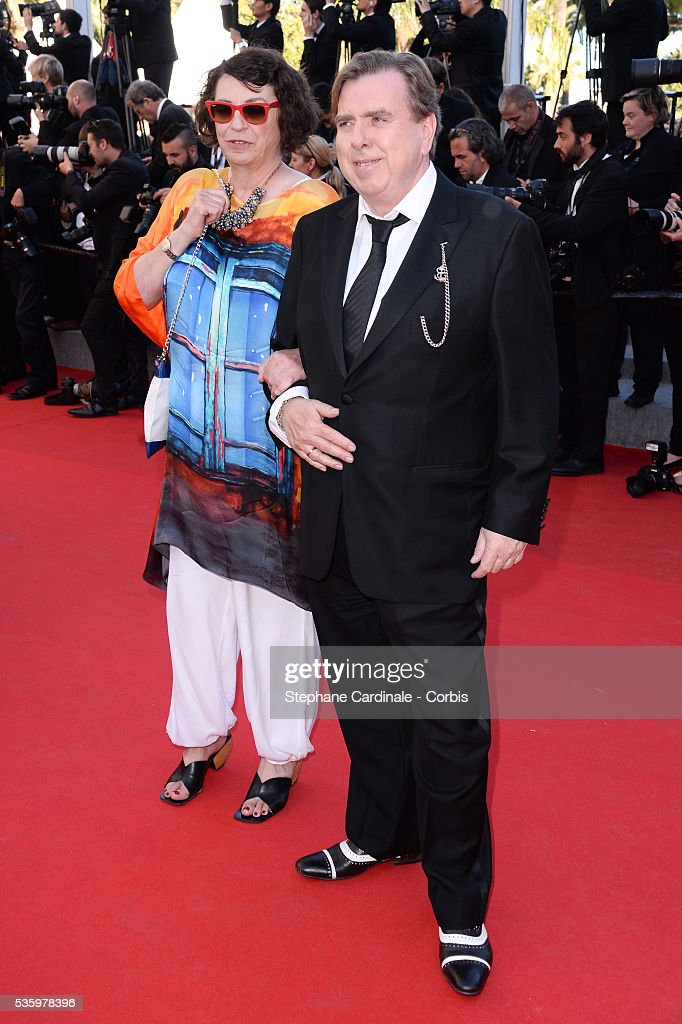 Shane Spall and Timothy Spall at the Closing ceremony and 'A Fistful of Dollars' screening during 67th Cannes Film Festival