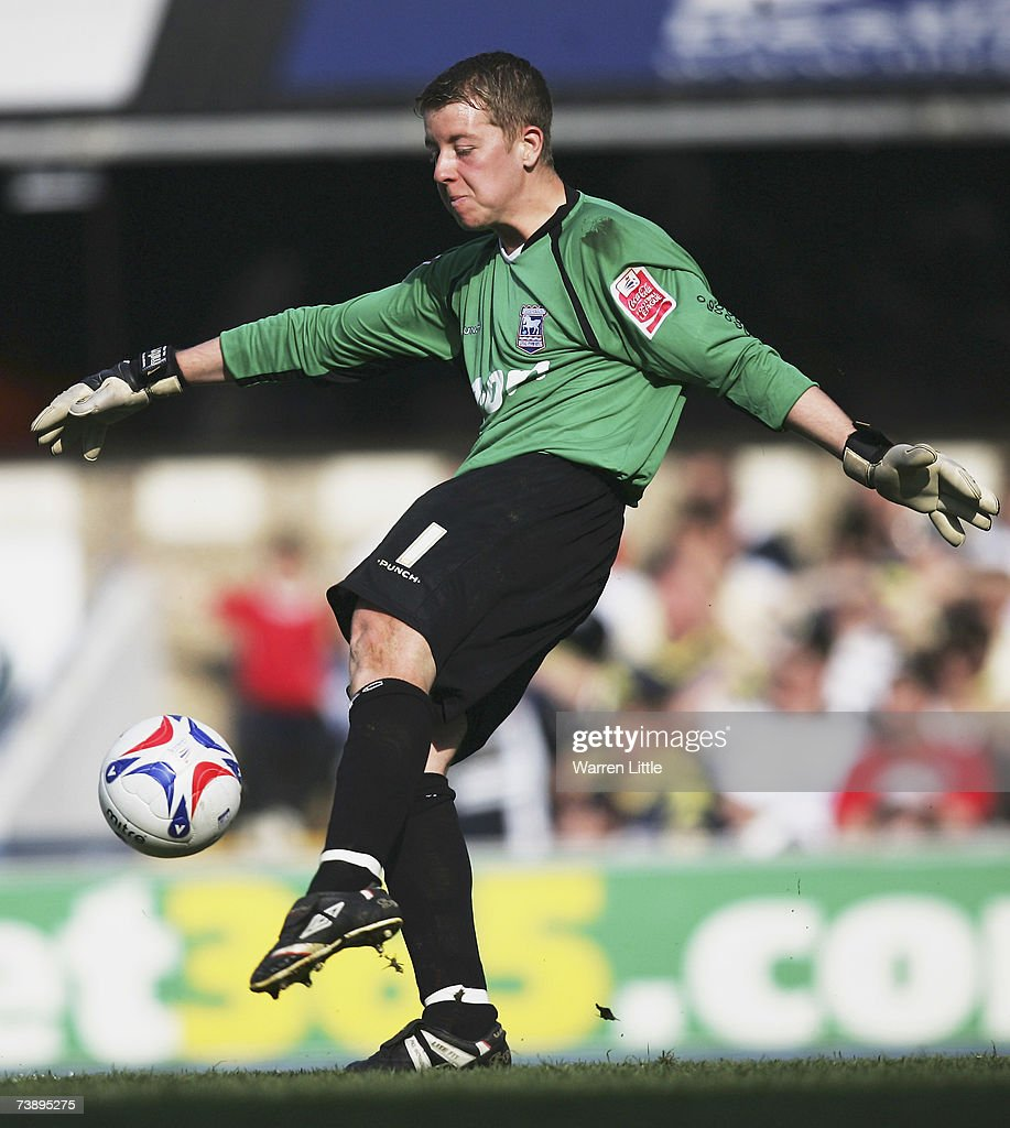 Shane Supple of Ipswich in action during the Coca-Cola Championship Match between Ipswich Town and Derby County at Portman Road on April 14, 2007 in Ipswich, England.
