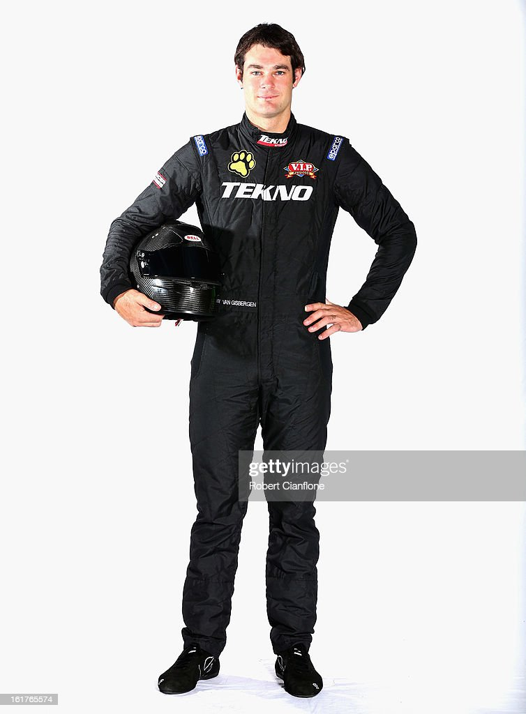 Shane Van Gisbergen of Tekno AutoSports poses during a V8 Supercars driver portrait session at Eastern Creek Raceway on February 16, 2013 in Sydney, Australia.