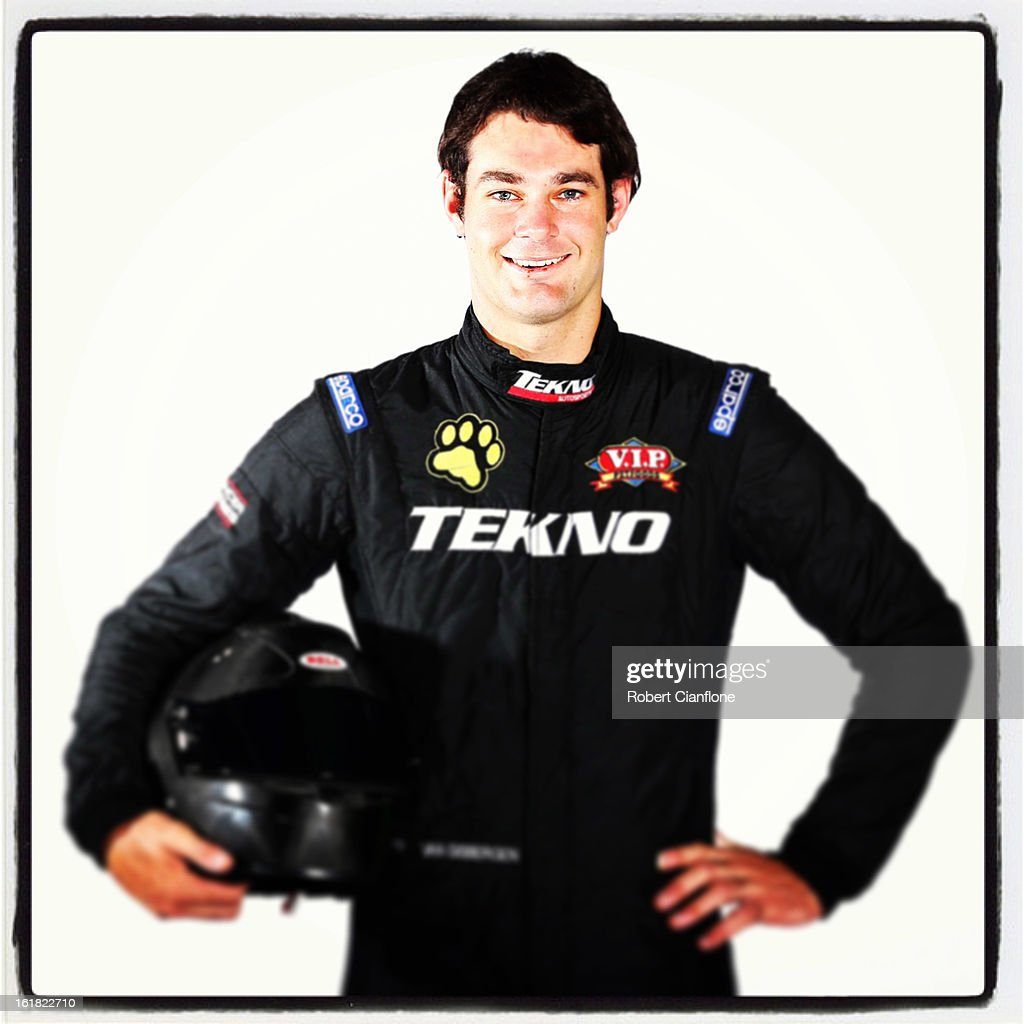 Shane Van Gisbergen of Tekno AutoSports poses during a V8 Supercars driver portrait session at Eastern Creek on February 15, 2013 in Sydney, Australia.