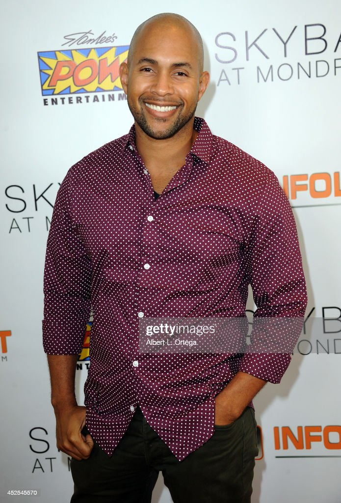 Shane Warren Jones at Infolist.com's Pre-Comic-Con Bash held at Skybar on July 17, 2014 in West Hollywood, California.