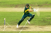 Shane Watson of Australia bats during game five of the One Day International series between Australia and South Africa at Sydney Cricket Ground on...