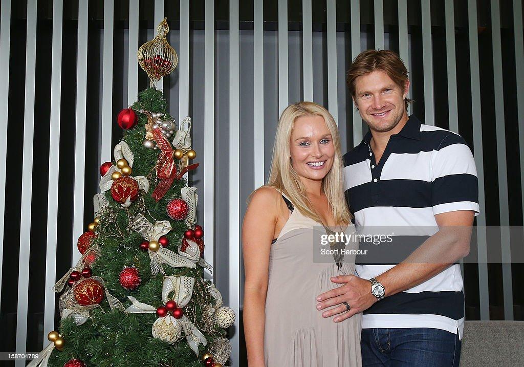 Australian Cricket Players Celebrate Christmas Day