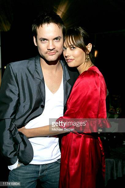 Shane West and CC *EXCLUSIVE COVERAGE* during AXELab Party at the Playboy Mansion at Playboy Mansion in Beverly Hills California United States