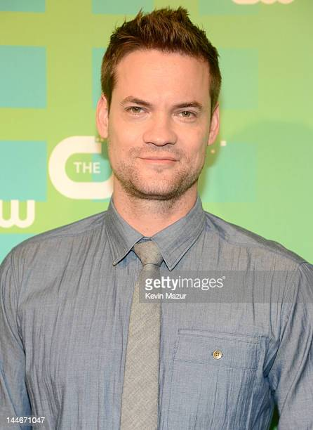 Shane West attends the CW Network's 2012 Upfront at The London Hotel on May 17 2012 in New York City