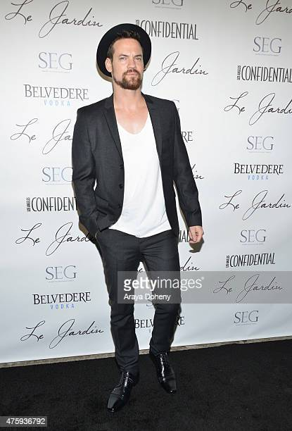 Shane West attends the Grand Opening Of Le Jardin on June 4 2015 in Hollywood California