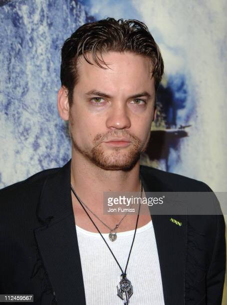 Shane West during 'Poseidon' European Film Premiere Inside Arrivals at Empire Leicester Square in London Great Britain