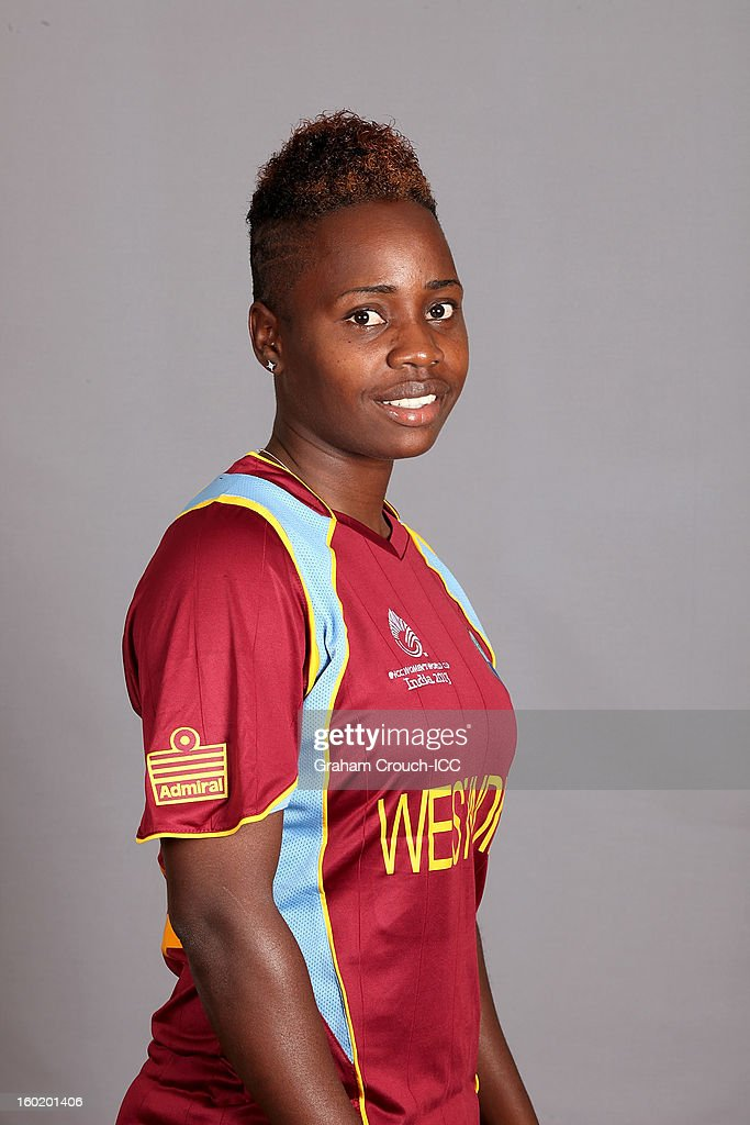Shanel Daly of West Indies poses at a portrait session ahead of the ICC Womens World Cup 2013 at the Taj Mahal Palace Hotel on January 27, 2013 in Mumbai, India.