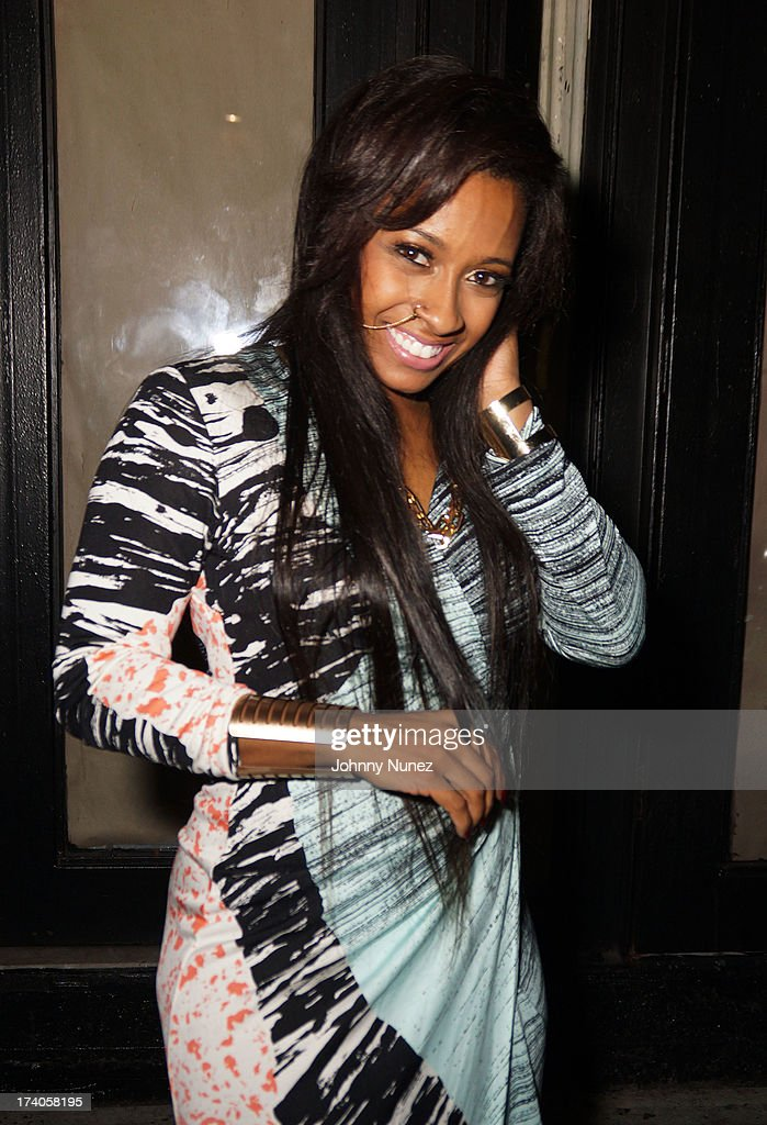 Shanell attends the Lil Wayne Tour After Party at 1OAK on July 19, 2013 in New York City.