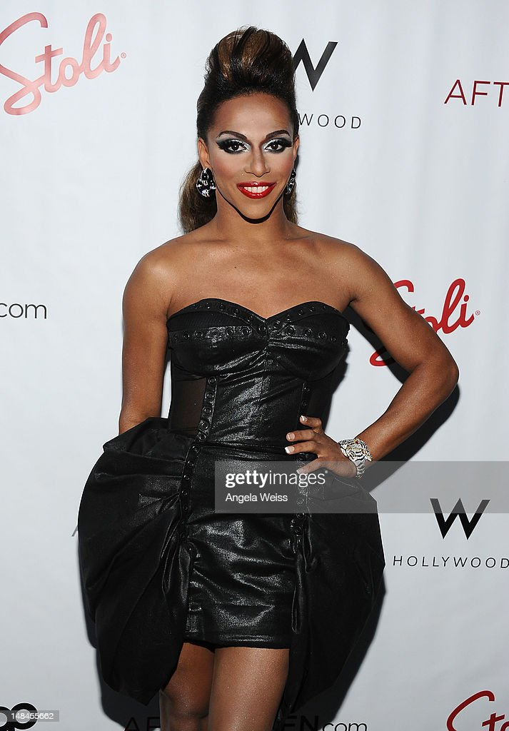 Shangela attends Logo's AfterEllen & AfterElton Inaugural 'Hot 100 Party' at Station Hollywood at W Hollywood Hotel on July 16, 2012 in Hollywood, California.