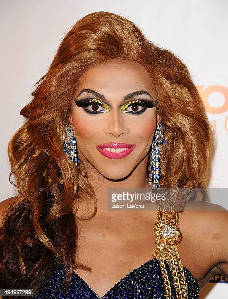 Shangela attends Prom 2014 A Night Out For Trevor at Petersen Automotive Museum on May 31 2014 in Los Angeles California