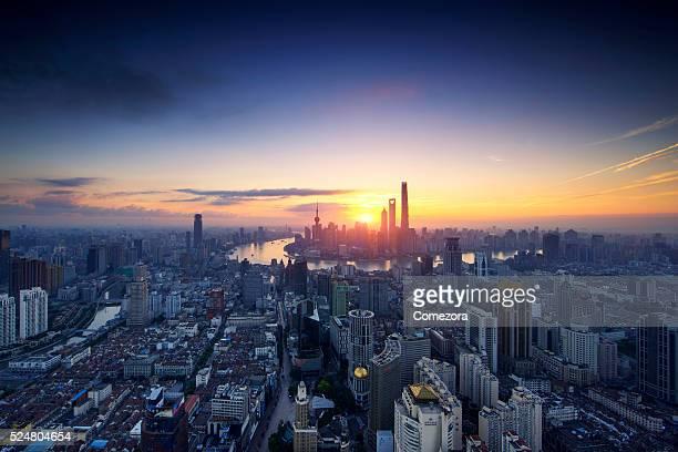 Shanghai Beautiful Skyline