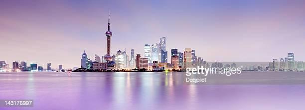 Shanghai City Skyline in China