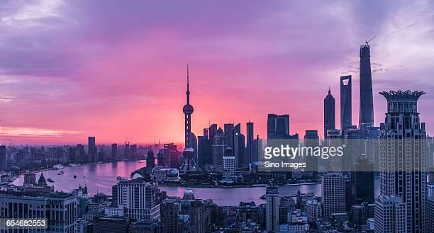 Shanghai Cityscape Landmark lujiazui Views