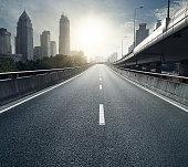 Shanghai continuous viaduct
