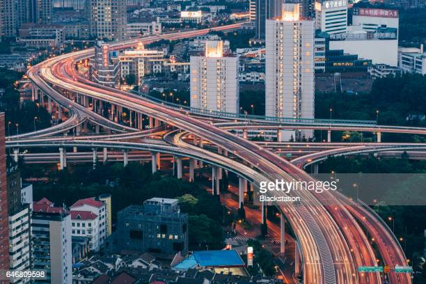 Shanghai elevated roads