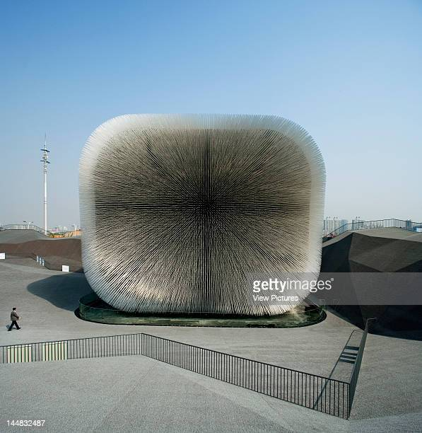 Shanghai Expo 2010 Uk PavilionShanghaiChina Architect Thomas Heatherwick Studio 'Seed Cathedral' Uk Pavilion Thomas Heatherwick Studio Shanghai Expo...