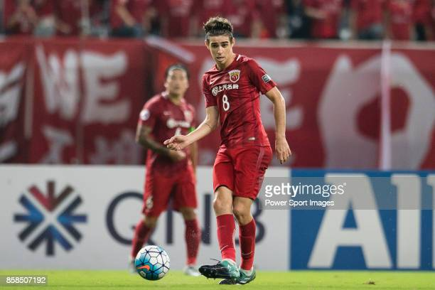 Shanghai FC Forward Oscar Emboaba Junior in action during the AFC Champions League 2017 SemiFinals match between Shanghai SIPG FC and Urawa Red...