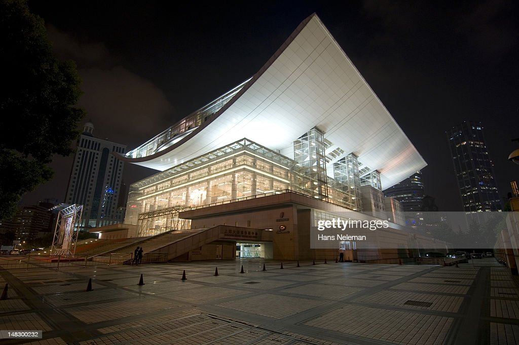 Shanghai Grand Theater in People's Square