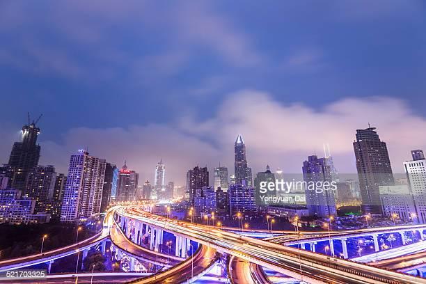 Shanghai Highway 夜