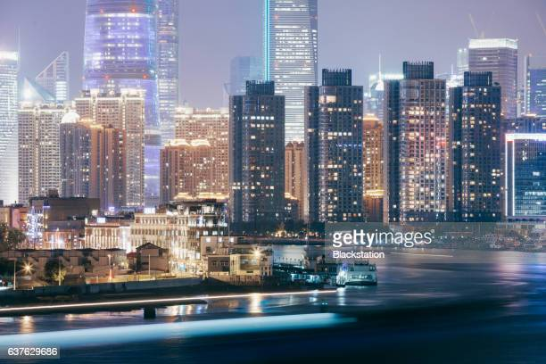 Shanghai is an important port of shipping