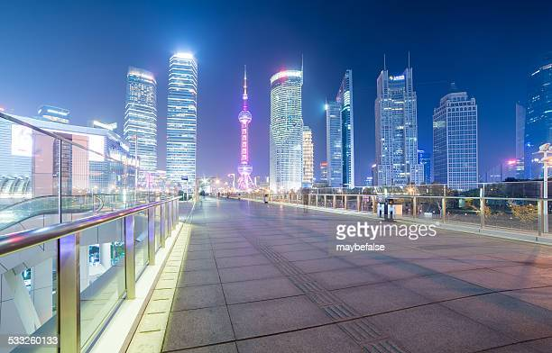 Shanghai Lujiazui night scene
