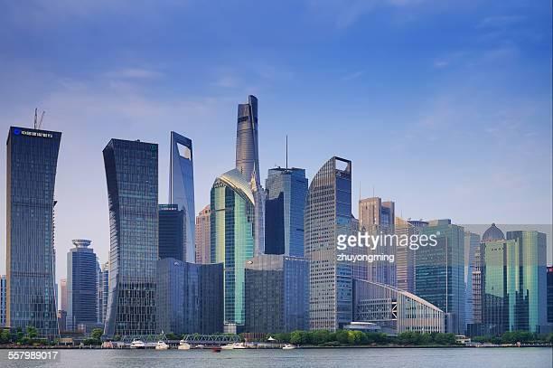 Shanghai Lujiazui skyscraper