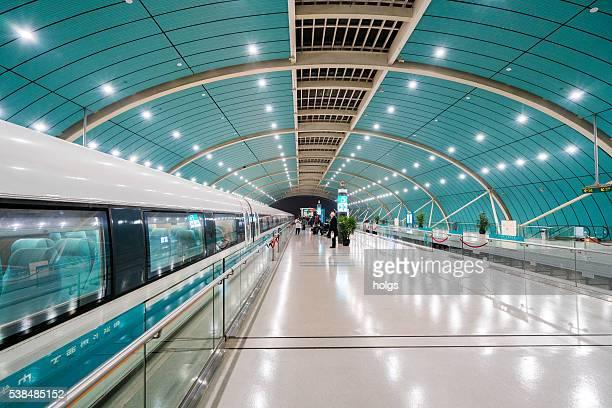 Stazione ferroviaria di Shanghai a levitazione magnetica