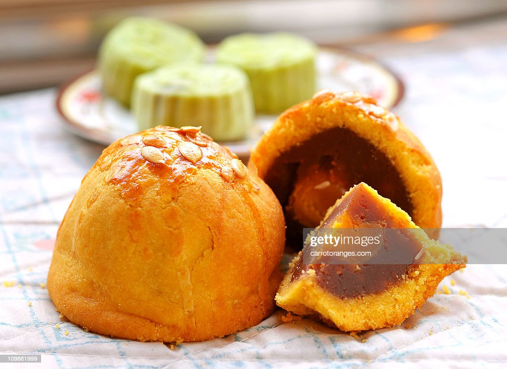 Shanghai Mooncake : Stock Photo