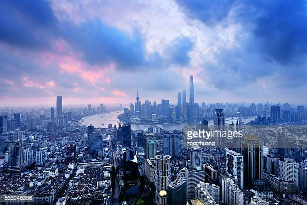 Shanghai Panoramic Skyline