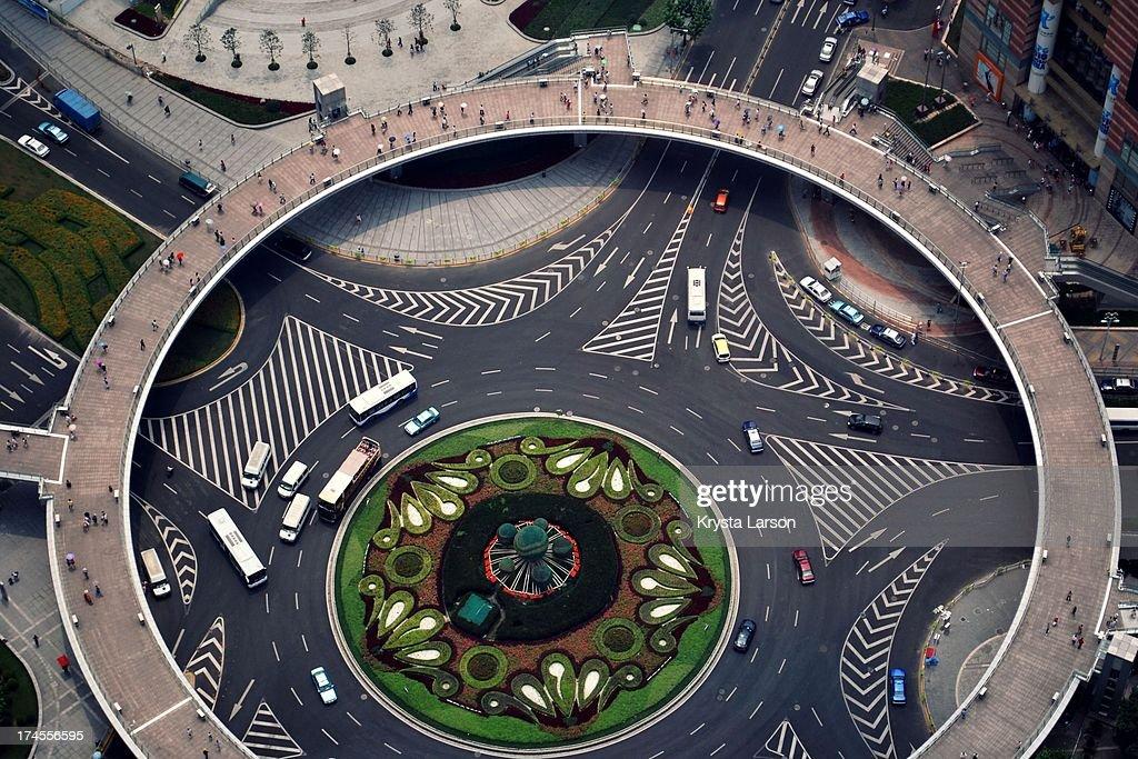 Shanghai Pedestrian Circle
