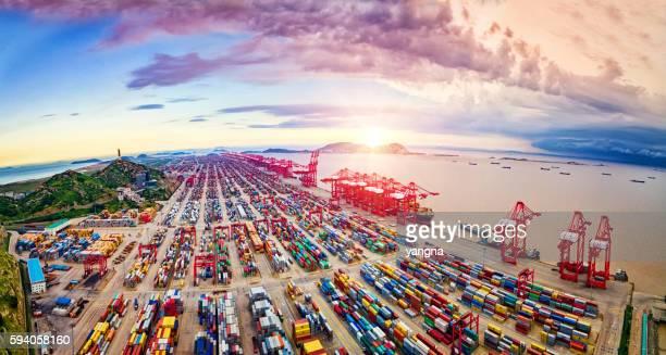 Shanghai Port Container