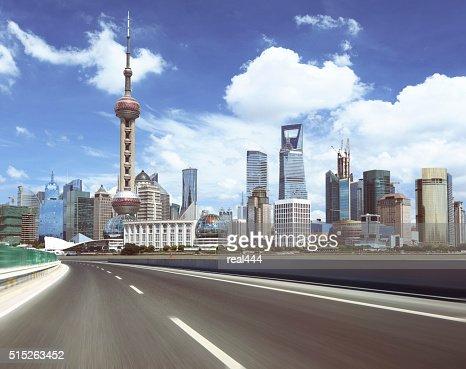 Shanghai Pudong beauty