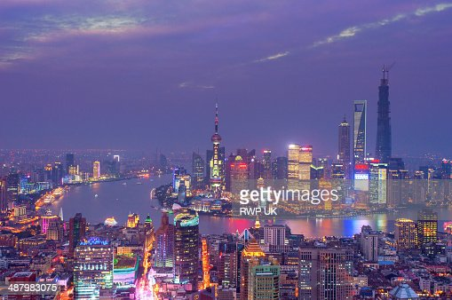 Shanghai, Pudong Night