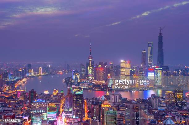 Shanghai, Pudong Night