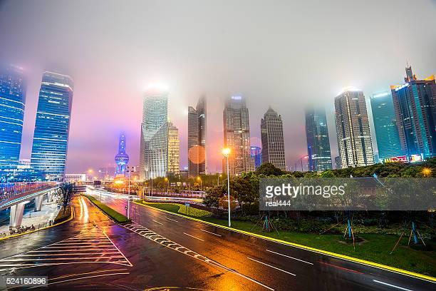 Shanghai Pudong Night view