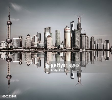 Shanghai Pudong - Square Symmetry