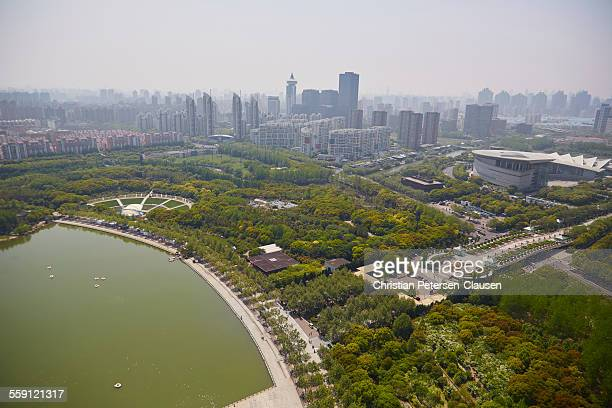Shanghai Pudong with Century Park