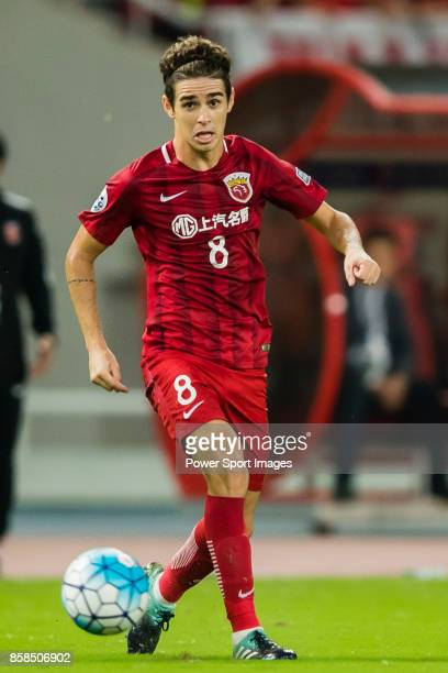 Shanghai SIPG FC forward Oscar Emboaba Junior in action during the AFC Champions League 2017 SemiFinals match between Shanghai SIPG FC and Urawa Red...