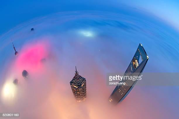 上海の街並み