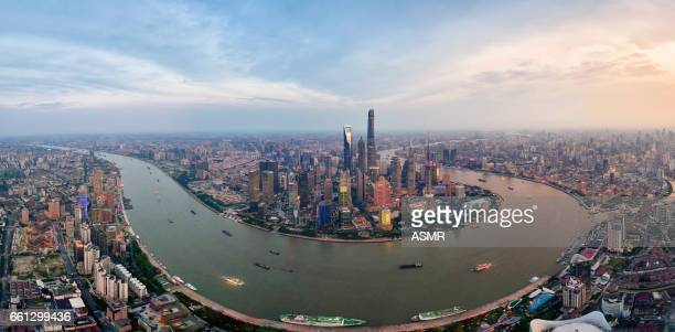 Sunset Skyline de Shanghai