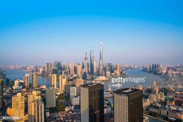 Shanghai wolkenkrabber