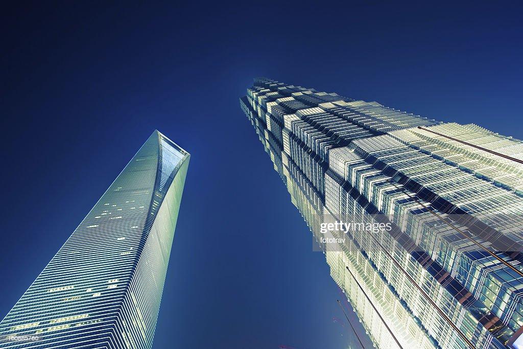 Shanghai skyscrapers : Stock Photo