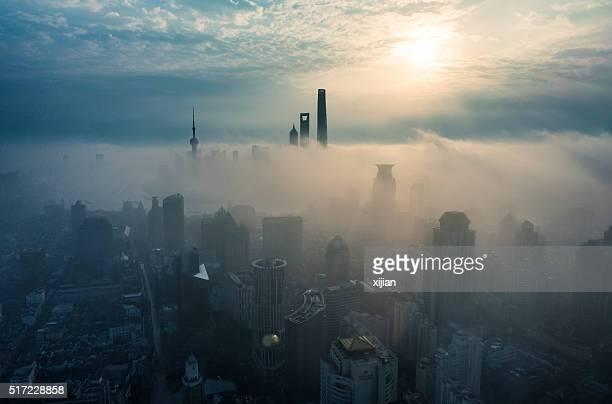 Shanghai lever du soleil