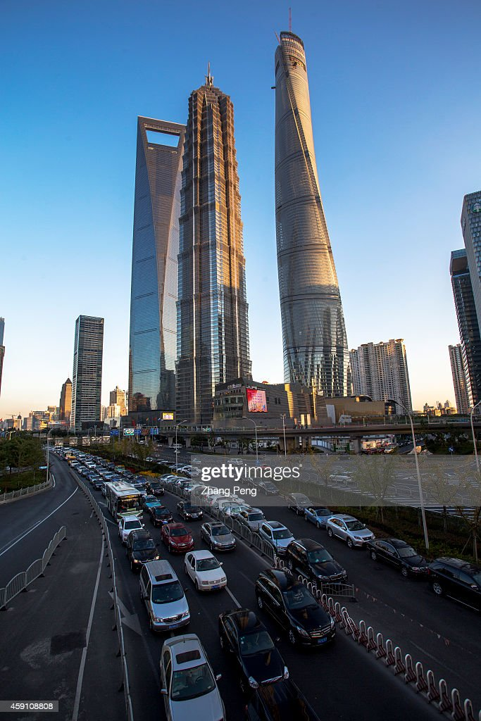 Shanghai Tower Shanghai World Financial Center and Jin Mao Tower are the new landmarks of Lujiazui financial and trade zone On Nov 17 the...