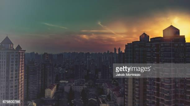 Shanghaian Sunset
