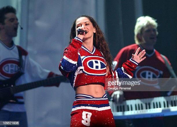 Shania Twain 2003 Juno Awards Host during 2003 Juno Awards Show at Corel Centre in Ottawa Ontario Canada