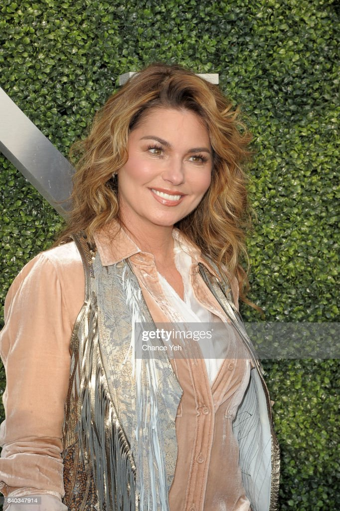 Shania Twain attends 17th Annual USTA Foundation opening night gala at USTA Billie Jean King National Tennis Center on August 28, 2017 in the Queens borough of New York City.