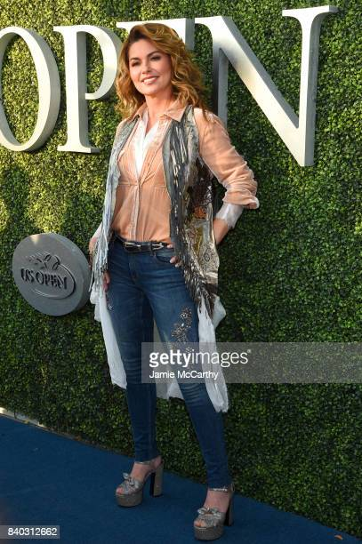 Shania Twain attends the 17th Annual USTA Foundation Opening Night Gala at USTA Billie Jean King National Tennis Center on August 28 2017 in the...
